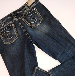 Silver Suki Jeans Straight 18